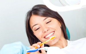 Prophylaxe für Zahnimplantate